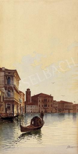 A. Biondetti jelzéssel, 1900 körül - Velence