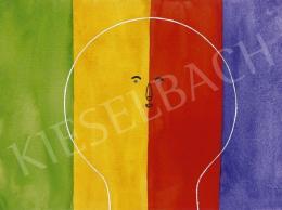 Zemplényi Magda - Fej színekkel