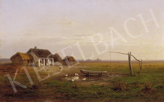Ligeti Antal - Táj alkonyatkor   3. Aukció aukció / 120 tétel