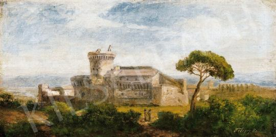 Telepy Károly - Itáliai táj | 21. Aukció aukció / 41 tétel