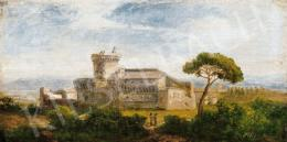 Telepy Károly - Itáliai táj