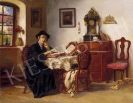 Ismeretlen festő, 1930 körül (Rottmann Mozart - A kis talmudista
