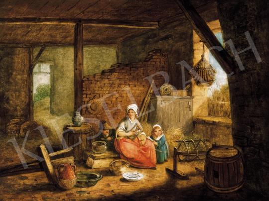 Senave, Jacques Albert - Kis család | 21. Aukció aukció / 44 tétel
