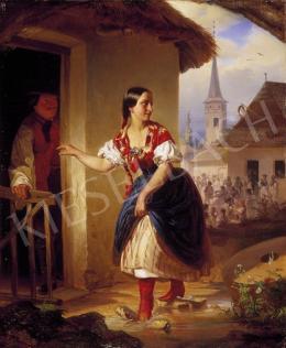 Borsos József - A pásztoróra első percei (Ballépés)