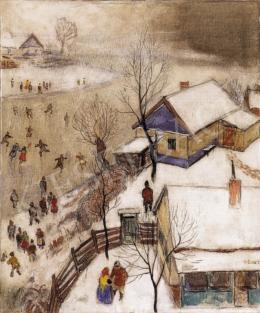 Pólya Tibor - A tél örömei