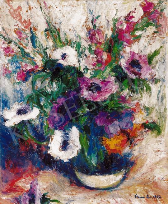 Vass Elemér - Virágok vázában | 21. Aukció aukció / 47 tétel