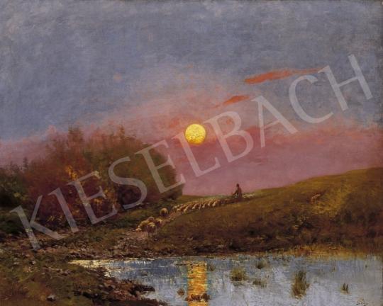 K. Spányi Béla - Naplemente | 3. Aukció aukció / 215 tétel