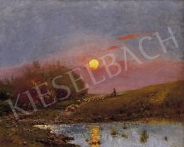 K. Spányi, Béla - Sunset