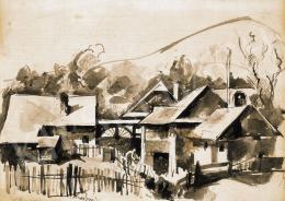 Aba-Novák Vilmos - Nagybányai házak