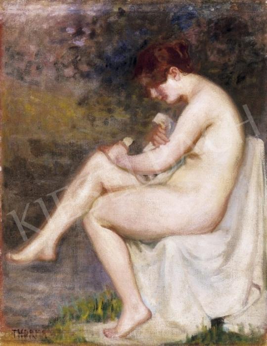 Thorma János - Fürdés után | 3. Aukció aukció / 249 tétel