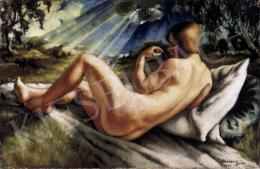 Ducsay, Béla - Nude in Landscape