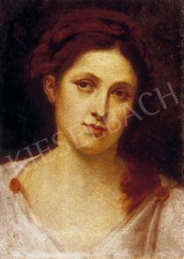 Ismeretlen festő, 19. század vége - Női portré