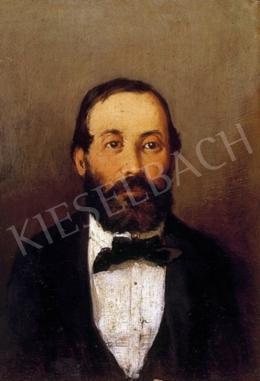 Mészöly Géza - Férfiarckép, 1880 körül