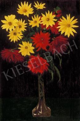 Börtsök Samu - Piros és sárga virágok