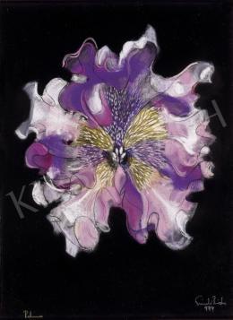 Szántó, Piroska - Purple Flower