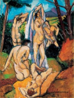 Tihanyi, Lajos, - Nudes in the Open