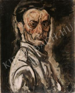 Pór, Bertalan - Self-Portrait