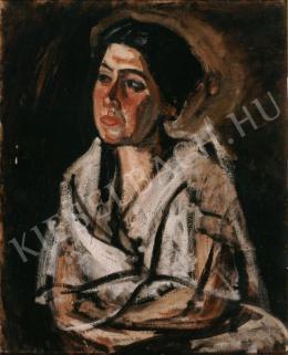 Pór Bertalan - Női portré