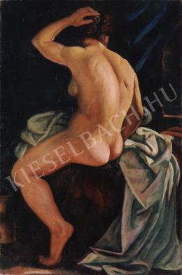 Uitz Béla - Női hátakt