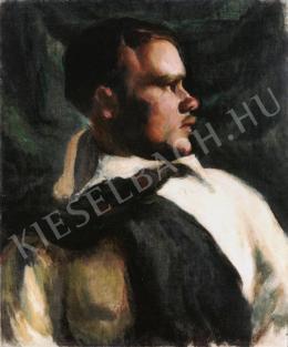 Uitz Béla - Férfi portré