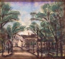Bohacsek, Ede - Landscape with Houses