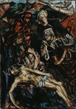 Bortnyik Sándor - Krisztus sírbatétele