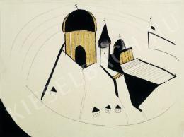 Bernáth Aurél - Katedrálisok, házak (