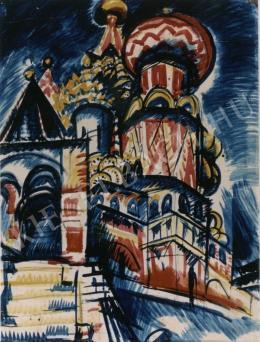 Uitz Béla - Moszvai katedrális