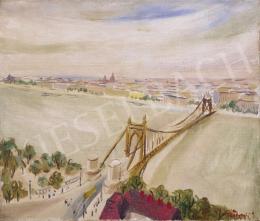 Peterdi Gábor - Kilátás a Gellért-hegyről