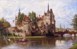 Wünsche Rezső - Csónakázás a városligeti tavon