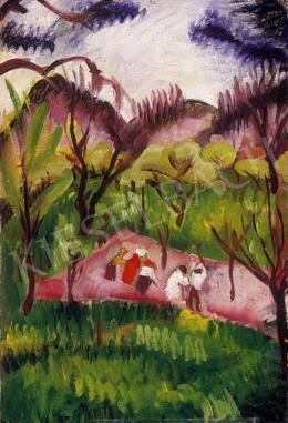 Lehel Mária - Domboldal