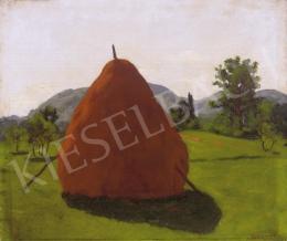 Börtsök, Samu - Landscape in Nagybánya