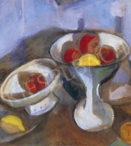 Perlrott Csaba, Vilmos - Still Life of Apples