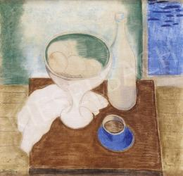 Bene, Géza - Still Life with View to the Clouds