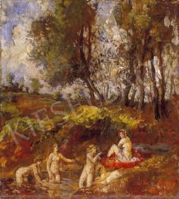Herman Lipót - Délutáni fürdés
