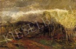 Magyar Mannheimer, Gusztáv - Landscape with Birch Trees