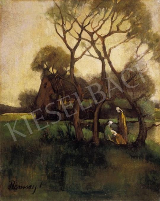 Remsey Jenő György - Tópart | 2. Aukció aukció / 57 tétel