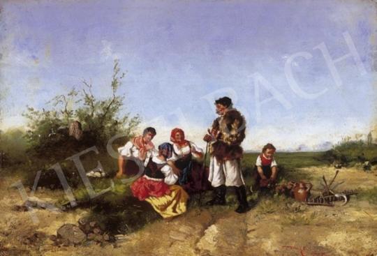 Basch Árpád - Déli pihenő | 2. Aukció aukció / 81 tétel