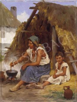 Vastagh György - Készül a vacsora