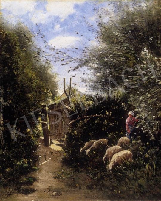 K. Spányi Béla - Kertek alján | 2. Aukció aukció / 88 tétel