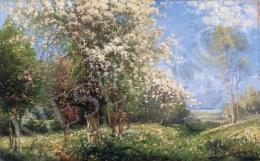 Kaufmann, Karl - Virágzó fák a domboldalon