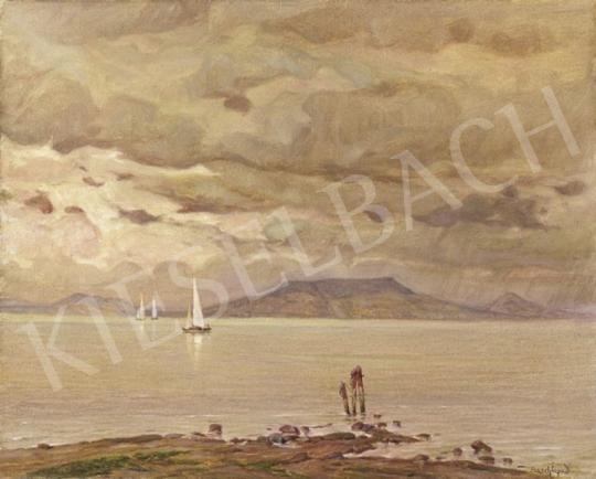Basch Árpád - Badacsony vitorlásokkal   2. Aukció aukció / 125 tétel
