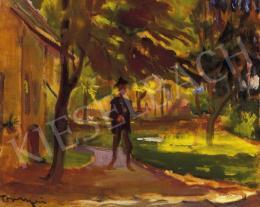 Tornyai János - Napfényes kertemben