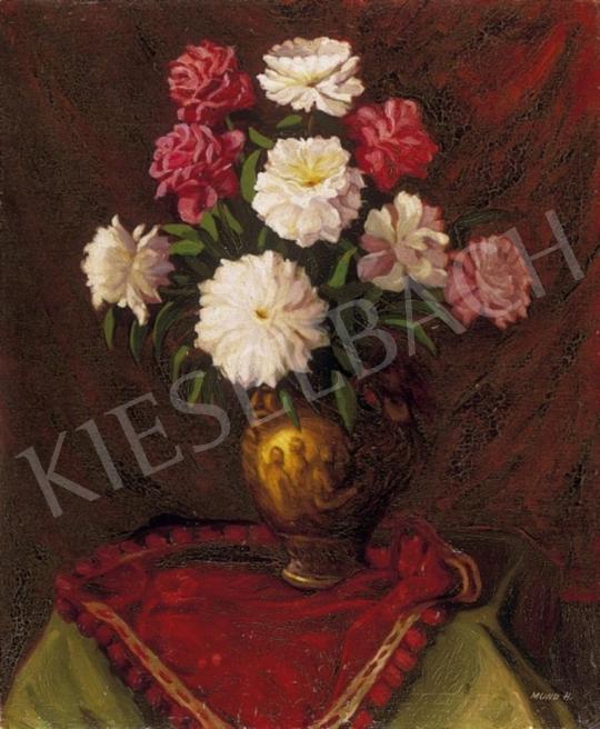 Mund Hugó - Virágok vázában | 2. Aukció aukció / 167 tétel
