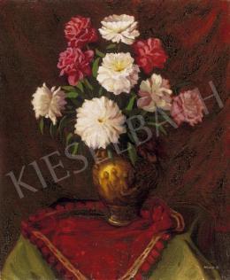 Mund Hugó - Virágok vázában