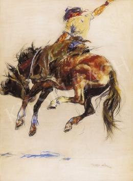 Fried Pál - Lovas cowboy