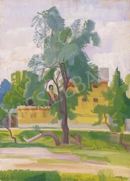 Szobotka, Imre - Nagybánya Landscape with a Lake, 1929 - 30
