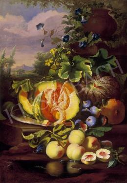 Ujházy, Ferenc - Still Life of Fruit
