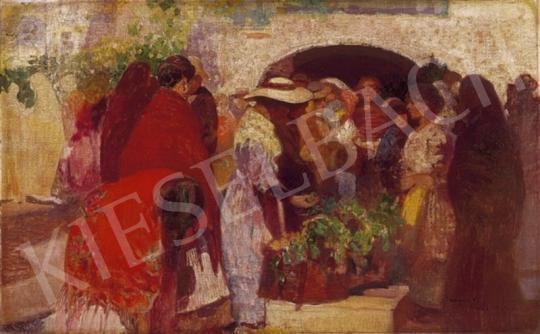 Herrer Cézár - Spanyol virágpiac   2. Aukció aukció / 222 tétel
