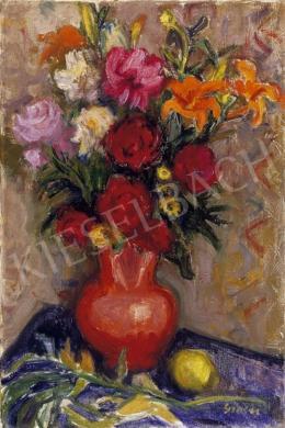 Gráber Margit - Virágcsendélet